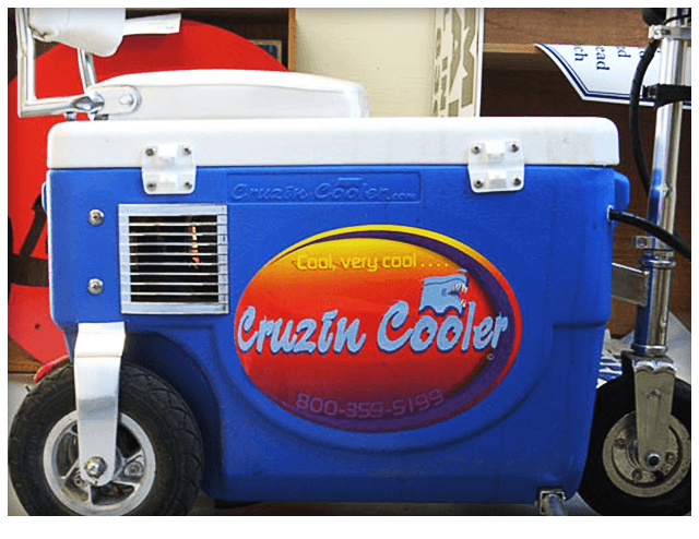 Cooler Decal